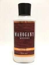 NEW 1 BATH & BODY WORKS MAHOGANY WOODS HAND & BODY LOTION CREAM FOR MEN 8 FL OZ