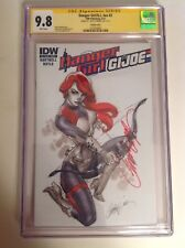 CGC SS 9.8 Danger Girl / G.I. Joe #2 Variant Cover signed by J. Scott Campbell