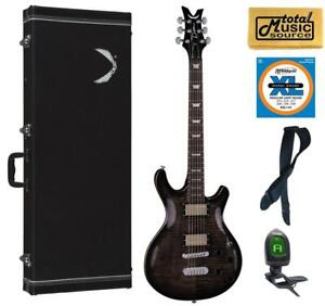 Dean ICON FM CHB  CASEPACK  Icon Solid-Body Electric Guitar, Charcoal Burst Cas
