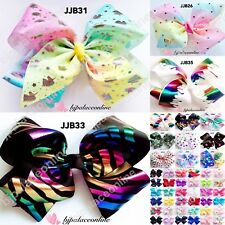 Ladies/girls Large Hair Bows Crystal Diamant Rhinestone Ribbon Bow Hair Clips