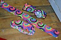 WEISSMAN XLC ACCESSORY WRIST BANDS HEAD BANDS GIRLS DANCE CHILD BALLET JAZZ TAP