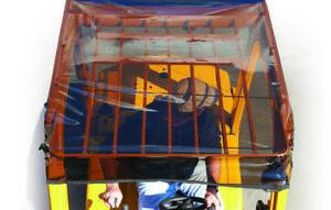 Solarcap Universal Tinted Forklift Canopy OSHA Standard Sun Shade & Rain Canopy