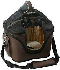 One for Pets Deluxe Cozy Dog Cat Carrier, Large, Brown