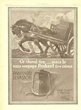 1920 Publicite Automobile - Moteur PANHARD Sans Soupape