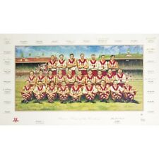 SYDNEY SWANS FRAMED TEAM OF THE CENTURY JAMIE COOPER PRINT SKILTON KELLY LOCKETT