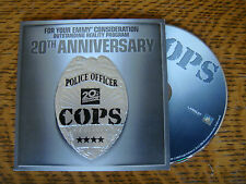 COPS EMMY DVD 20TH ANNIVERSARY  3 EPISODES REALITY COP CHASE TV SHOW