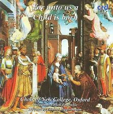 For Unto Us a Child Is Born (CD, Jul-2016, CRD Records)