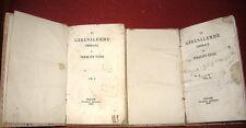 Torquato Tasso # LA GERUSALEMME LIBERATA # 2 VOLL. Tipografia Fraticelli 1843