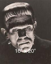 "Frankenstein~Boris Karloff~CU~Horror~Photo~ Poster 16"" x  20"""