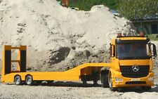 RC TIEFLADER LKW Mercedes mit 10 Funktionen 85cm Ferngesteuert 2,4GHz    405107