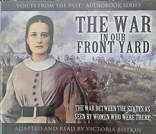 NEW! The War In Our Front Yard VOICES FROM THE PAST 5 CD SET Audiobook HISTORY