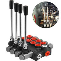 4 spool hydraulic directional control valve 11 gpm double acting cylinder spool