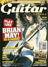 GUITAR & Bass Magazine UK March 2012 Play Like BRIAN MAY Learn JOHN ENTWISTLE