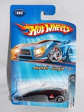 Hot Wheels 2005 Asphalt Jungle Series #082 Low Flow Bus Black & Grey w/ 5SPs