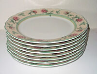 "Fine Wedgwood dinner plate porcelain china English Cottage 10 1/2"", 4 available!"