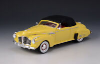 1/43 GLM Buick Roadmaster Convertible 76C 1941 Yellow Closed top GLM107802