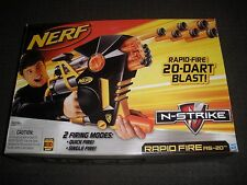 Brand New NERF N-Strike RAPID FIRE AS-20 Dart BLASTER Super Rare