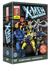X-MEN ULTIMATE COLLECTION DVD Marvel 76 Episodes Animation UK Release New R2