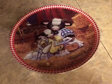 Hamilton Collection Pasture Bedtime plate