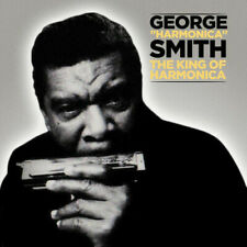 "King of Harmonica Single by George ""Harmonica"" Smith."
