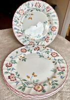 "Churchill Fine English China Briar Rose 9 3/4"" Dinner Plate - SET OF 4"