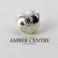 Pandora Silver CLEAR SPARKLING HEART Charm - 790134CZ  RRP£40!!!
