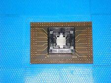 3M Textool BGA Open Top Burn-In Socket 196-Pin 2196-9615-01-2401 - With Adapter