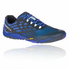 c291a94cc865 Merrell Mens Trail Glove 4 Running Shoes Trainers Sneakers Blue Sports