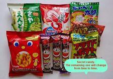 Japan Dagashi Foods 10PCS Sets Japanese Populuar  snack tohato calbee  F/S SAL