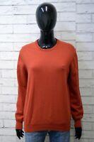 Henry Cotton's Donna Taglia L Maglione Cardigan Pullover Sweater Woman Lana