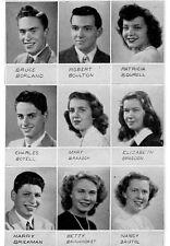 1947 Evanston Township High School Yearbook~Photos~History~Football~Illinois~IL