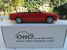 bmw m3 cabriolet rouge otto 1/18 neuve en boite  edit. limitée 2324/2500