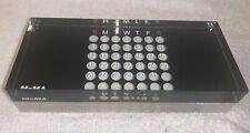 Moma Museum Of Modern Art Acrylic Perpetual Calendar Black Clear Slabs Unbranded