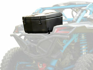 SuperATV Heavy Duty Rear Cargo Box / Cooler for Can-Am Maverick X3 (2017+)