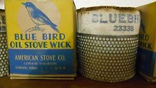 Old Bluebird Oil Stove Wick in Box [one]