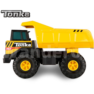 Tonka Metal Dump Truck Outdoor Kids Toy Sandpit Large New Construction Vehicle