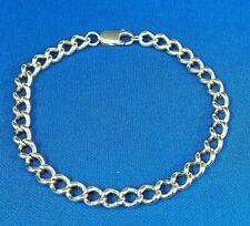 Vintage  Top Quality 9ct Gold Bracelet Curb Link ( Real Gold )