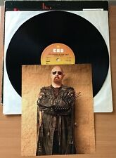 """JUDAS PRIEST,UNLEASHED IN THE EAST,VINTAGE 1979 ALBUM,12"""" LP33+HAND SIGNED PHOTO"""