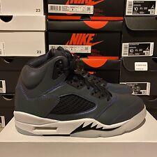 Nike Air Jordan 5 Retro Oil Grey Reflective CD2722-001 Women's Size 8 IN HAND