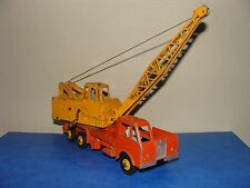 DINKY TOY SUPERTOYS   camion grue 972 LORRY  MOUNTED crane coles