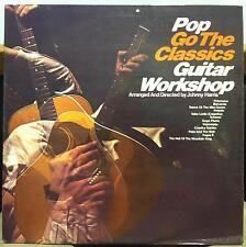 JOHNNY HARRIS & GUITAR WORKSHOP pop go classics LP Mint- UK Instro Drum Break