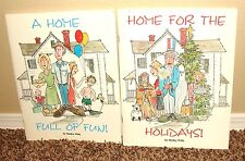 A HOME FOR THE HOLIDAYS & FULL OF FUN F.H.E. by Shelley Wille 2 SET MORMON PB