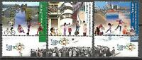 Israel Stamps MNH With Tab Tel Aviv Centennial Year 2009