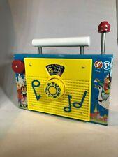 Classic Retro Fisher Price TV Radio Toy Farmer In The Dell