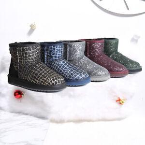 Women UGG Classic Glitter Boot Water Resistant Premium Australian Sheepskin Wool