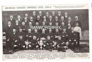 RP ROCHDALE RANGERS FOOTBALL CLUB RUGBY LEAGUE TEAM  MANCHESTER LANCS 1905