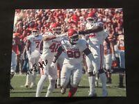 Neville Gallimore Autographed Oklahoma Sooners Football 8x10 Photo Coa Signed