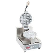 Star Swbb Single Round Belgian Waffle Baker