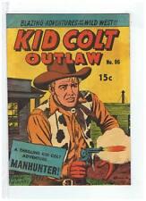 Horwitz Publications Kid Colt Outlaw #96 F/VF+ 1958/59 Australian