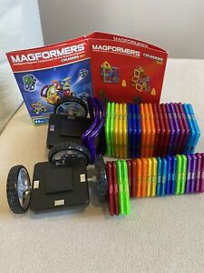 Magformers Cruisers Magnetic Building Blocks Car Vehicle Set Toy 44 Pieces